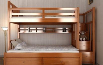 Phòng tai nạn khi con ngủ giường tầng