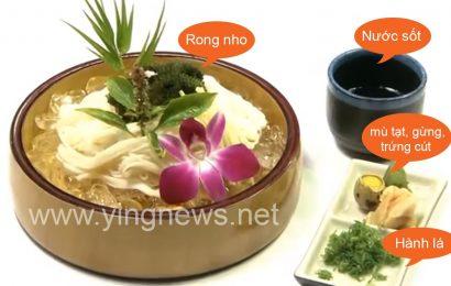 Cách làm món mì somen phong cách Nhật