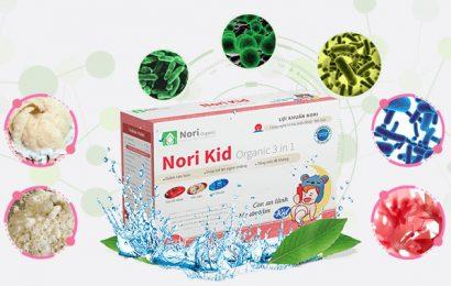 NoriKid – Bí quyết diệt trừ tình trạng táo bón biếng ăn ở trẻ