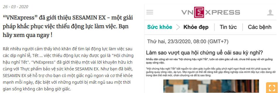 bao-vnexpress-noi-ve-sesamin-ex