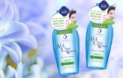 Review Nước Tẩy Trang Senka All Clear Water Fresh