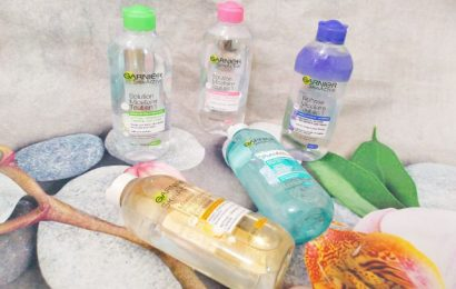Review nước tẩy trang Garnier Micellar Cleansing Water